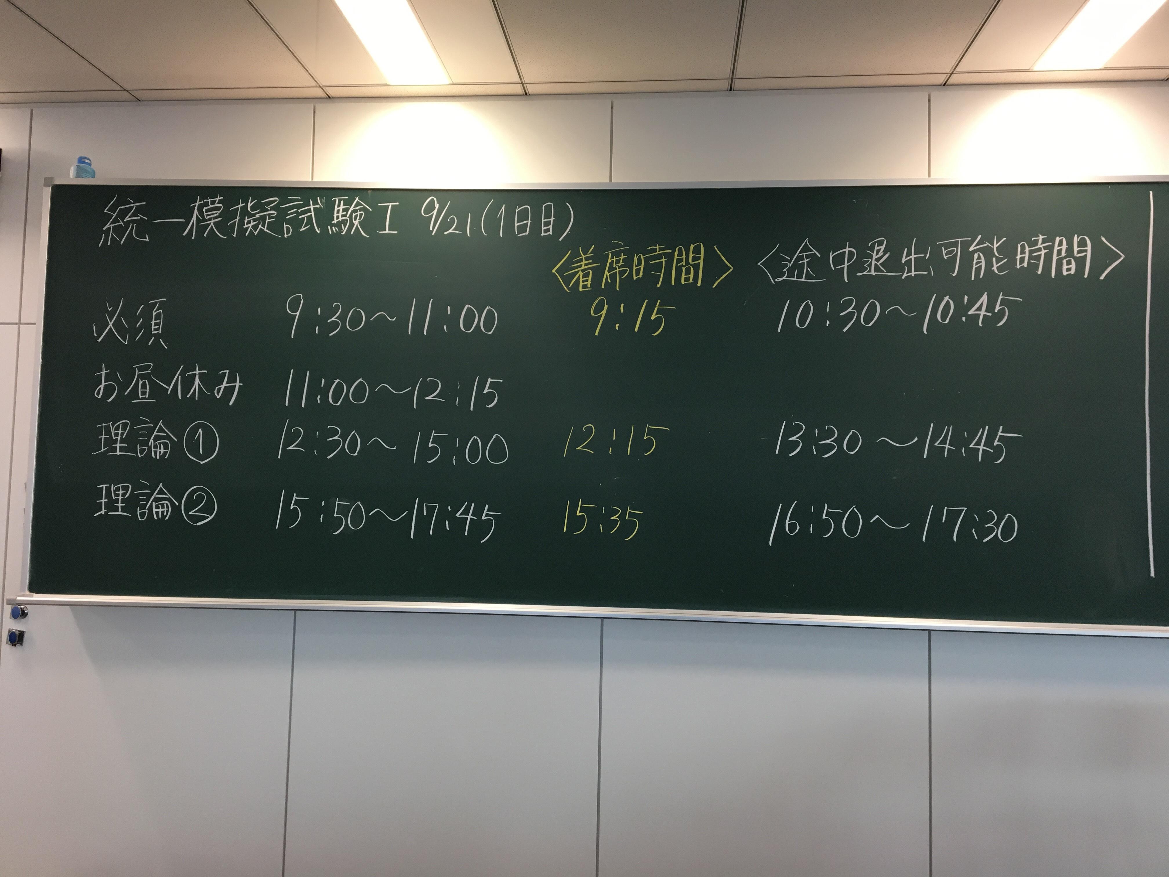 薬剤師 国家 試験 時間割