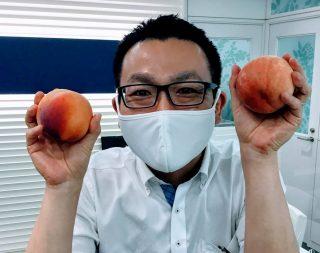 中野講師と桃